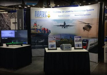 Neptec Technologies goes to the Drone Show – XPONENTIAL 2017